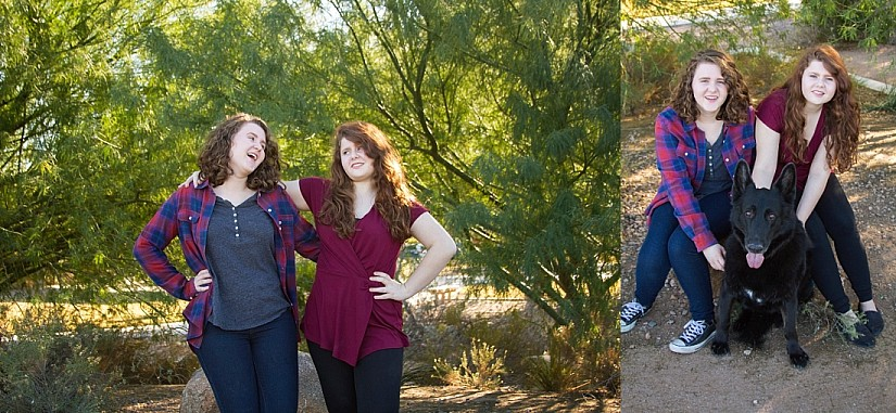 Teen Sister Photos Gilbert AZ Kristen Carter Photography