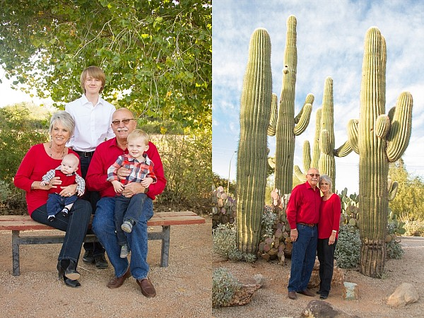 Extended Family Session Gilbert AZ Kristen Carter Photography