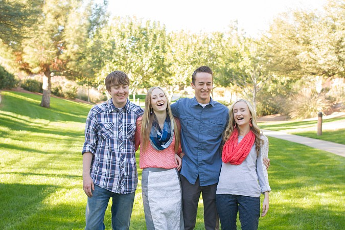 Queen Creek AZ Teen Family Photos Kristen Carter Photography
