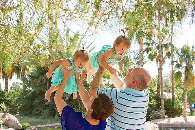 Twin Family Photos Gilbert Arizona Kristen Carter Photography