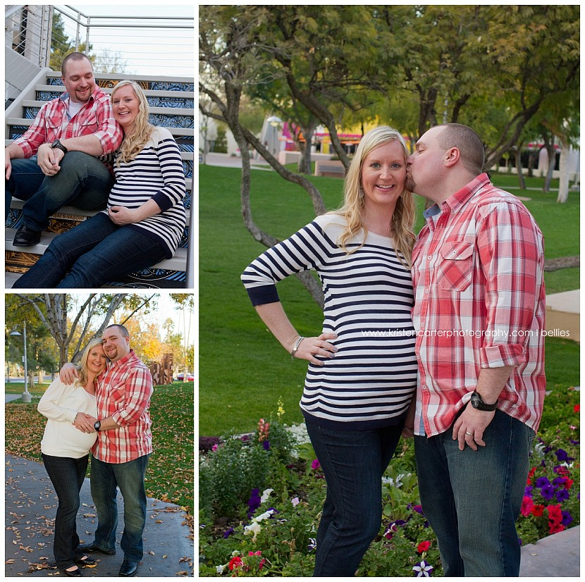 Gilbert AZ Scottsdale Civic Center Maternity Belly Photos Kristen Carter Photography_0002.jpg