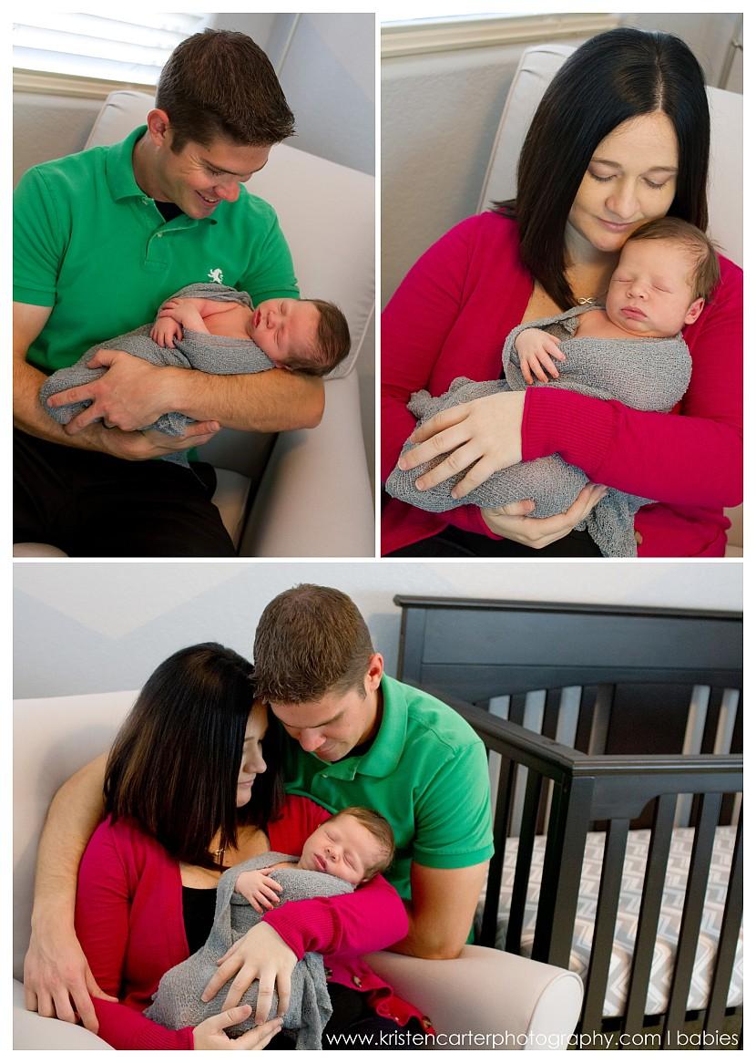 Chandler Newborn Nursery Lifestyle Football ASU Simple Baby Photos Kristen Carter Photography_0016.jpg