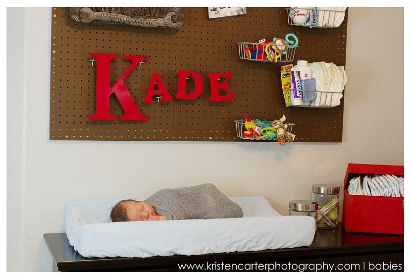 Chandler Newborn Nursery Lifestyle Football ASU Simple Baby Photos Kristen Carter Photography_0017.jpg