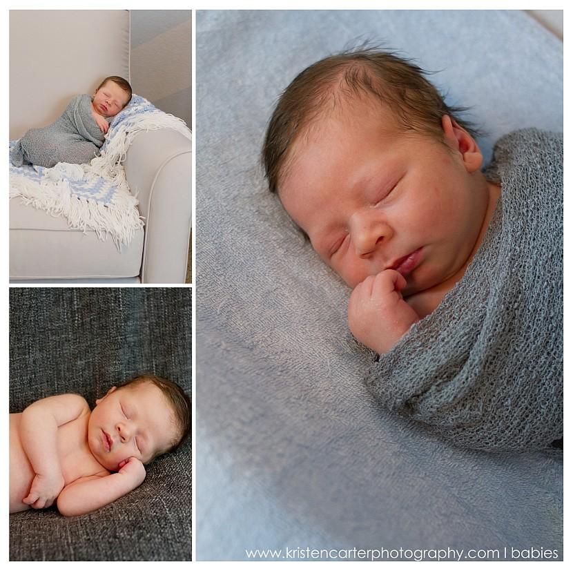 Chandler Newborn Nursery Lifestyle Football ASU Simple Baby Photos Kristen Carter Photography_0019.jpg