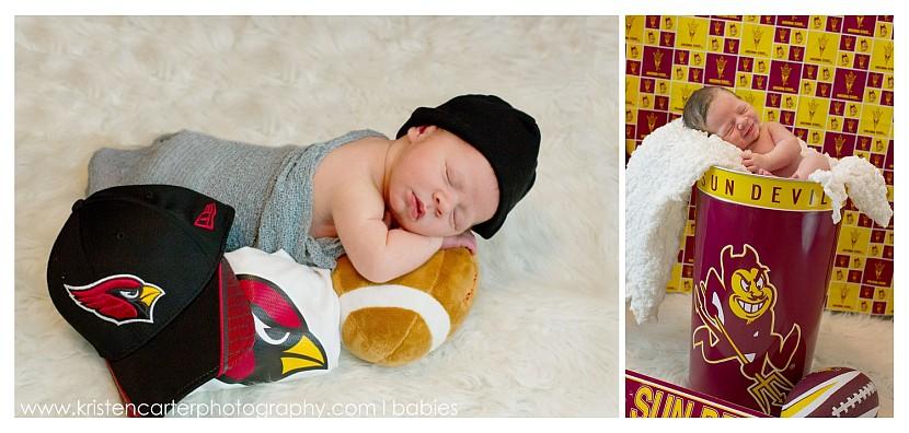 Chandler Newborn Nursery Lifestyle Football ASU Simple Baby Photos Kristen Carter Photography_0021.jpg
