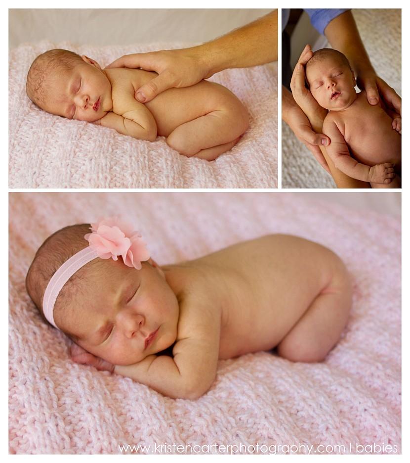 Chandler AZ Newborn Family Photos Daddys Hands Kristen Carter Photography.jpg