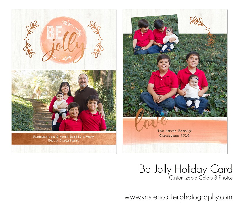 Christmas Card Family Photographer In Gilbert AZ The Holiday Card - Luxury christmas card templates for photographers 2014 scheme
