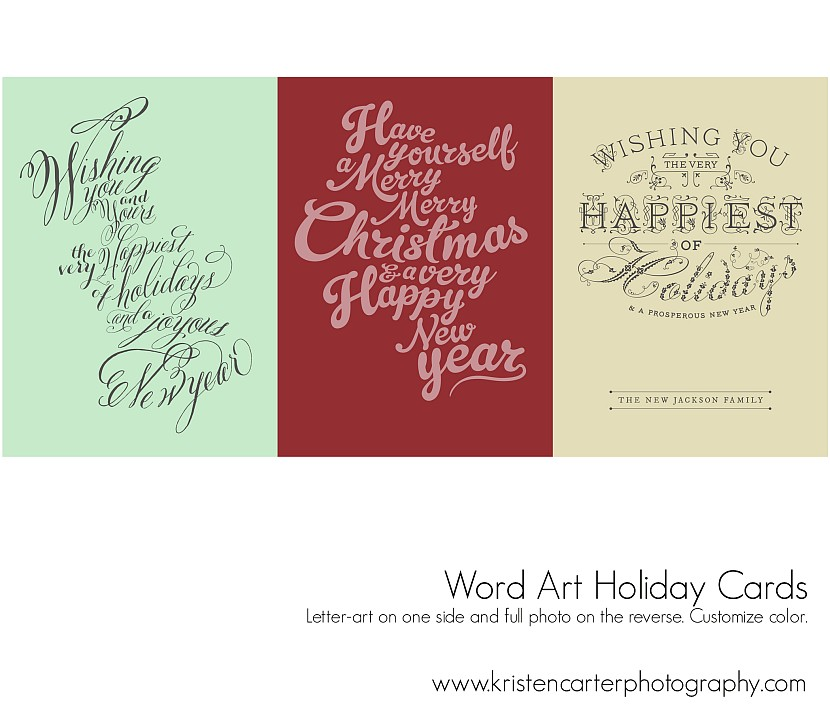 Letter Art Preview Holiday Card Kristen Carter Photography Gilbert AZ.jpg