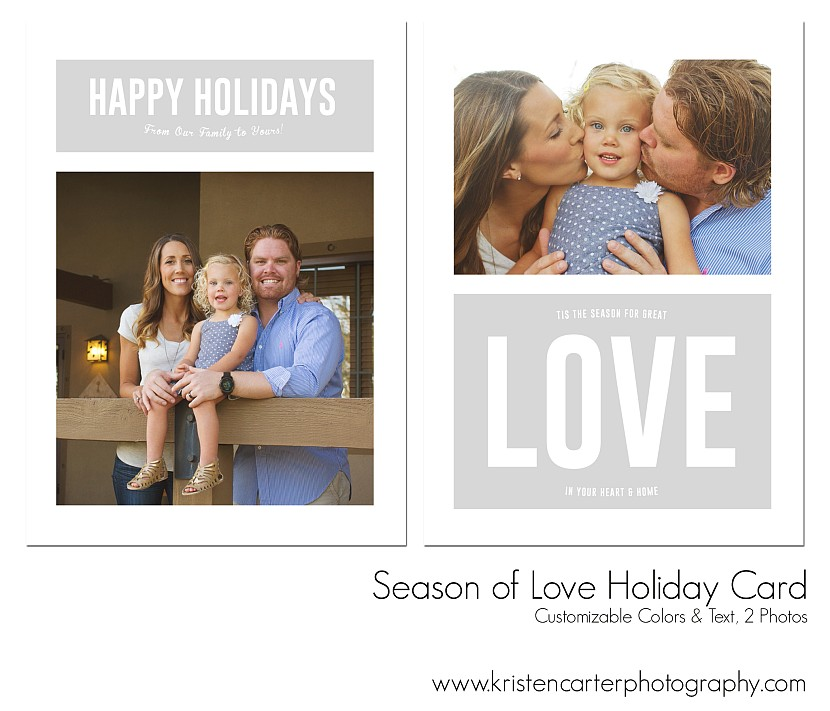 Season of Love Holiday Card Kristen Carter Photography Gilbert AZ.jpg