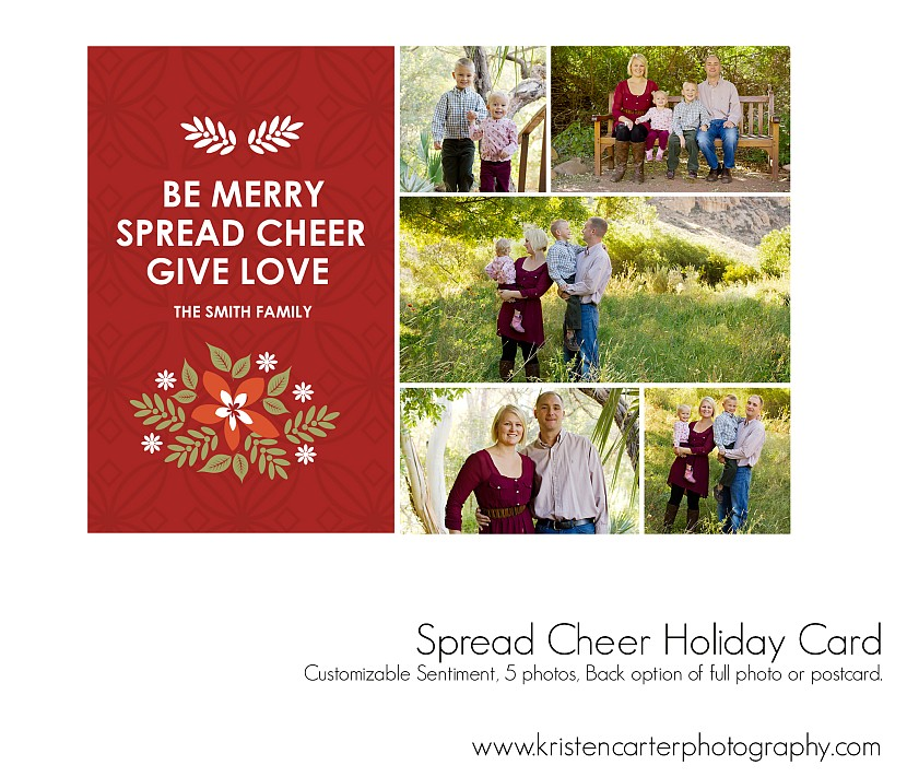 Spread Cheer Preview Holiday Card Kristen Carter Photography Gilbert AZ.jpg