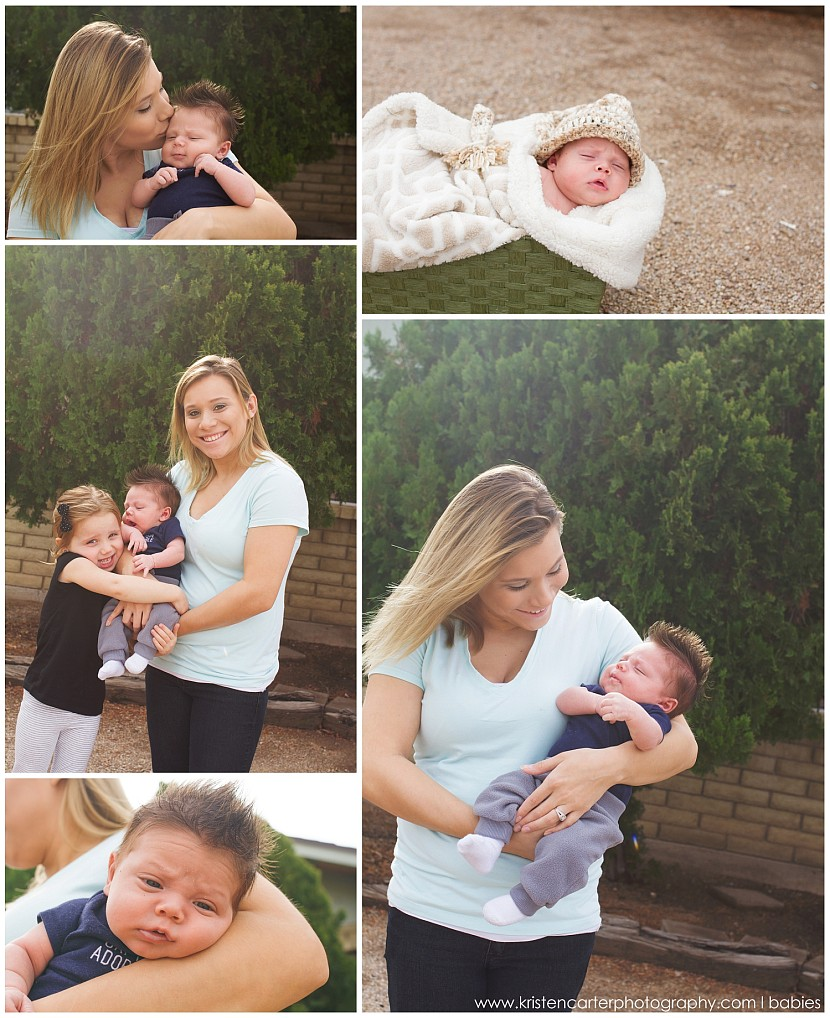 Lifestyle Newborn Baby Boy Mesa AZ Kristen Carter Photography