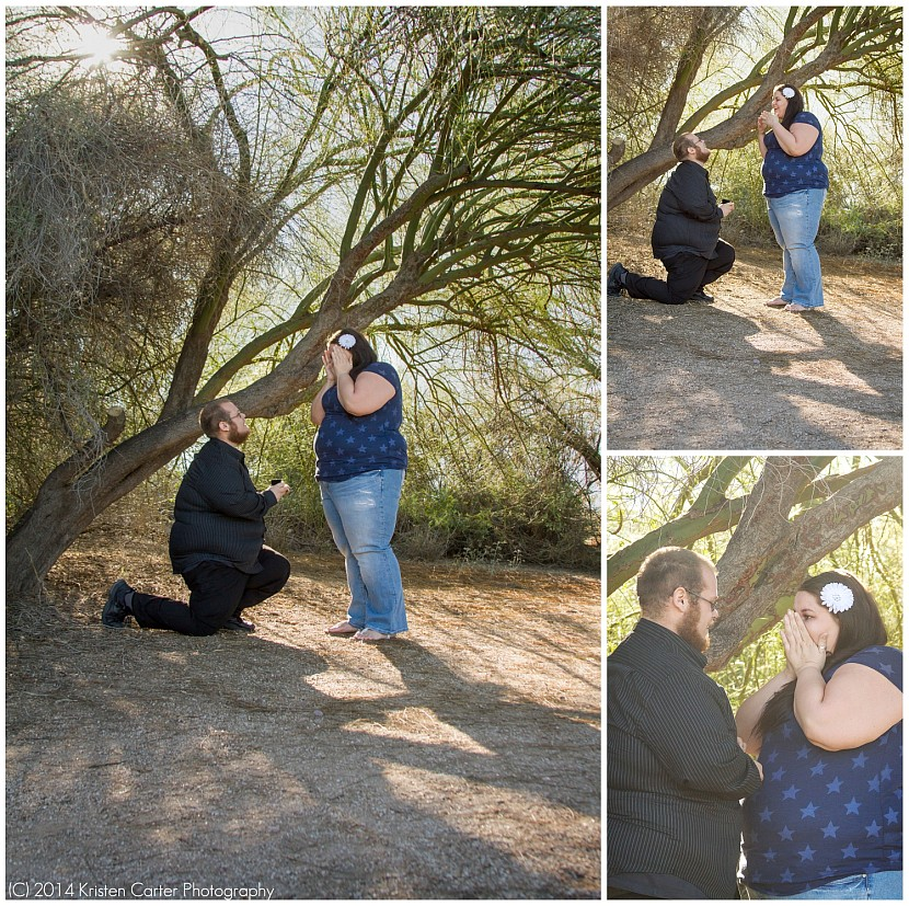 Surprise Proposal Photos Gilbert AZ Photographer Kristen Carter Photography 4.jpg