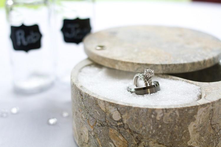 Gilbert AZ Wedding Photographer Salt Rings Details Kristen Carter Photography