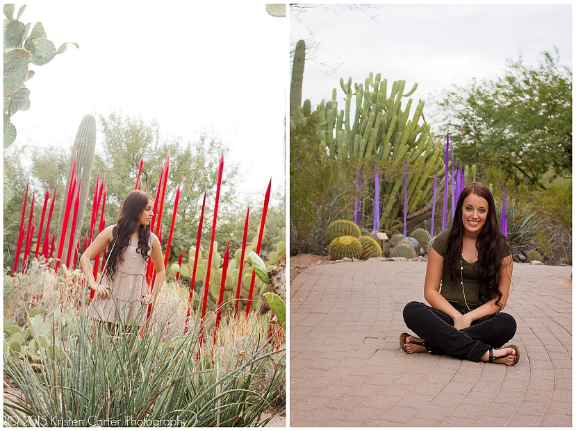 Phoenix Botanical Gardens Senior Photos Kristen Carter Photography_0140.jpg