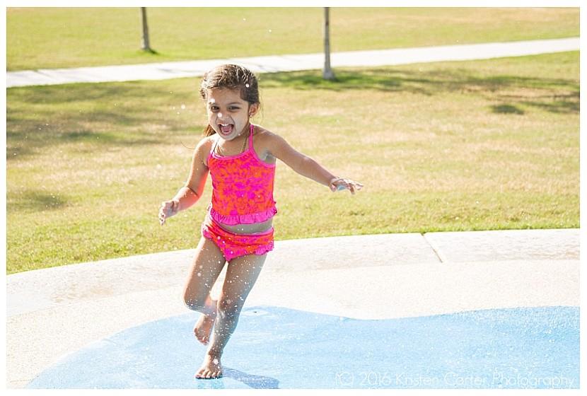 Splash Pad Gilbert AZ Child Photographer