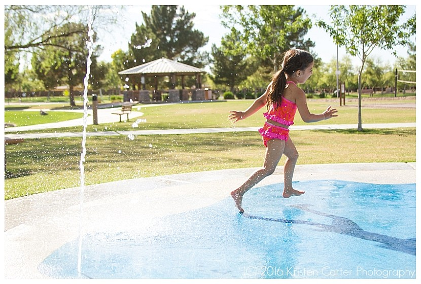Child Photographer Gilbert AZ Splash Pad