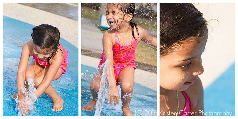 Splash Pad Gilbert AZ Child Photographer 2