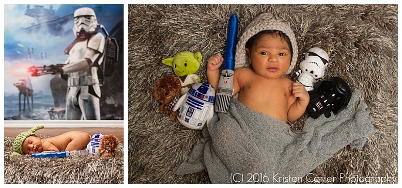 Star Wars Newborn Session Gilbert AZ Photographer Kristen Carter Photography_0004.jpg