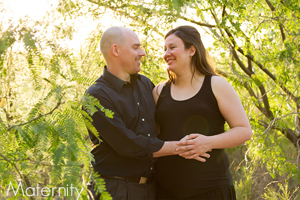 Maternity Photo Session with Couple