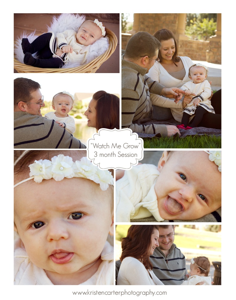 Kristen Carter Photography Watch Me Grow Blog 3 Months
