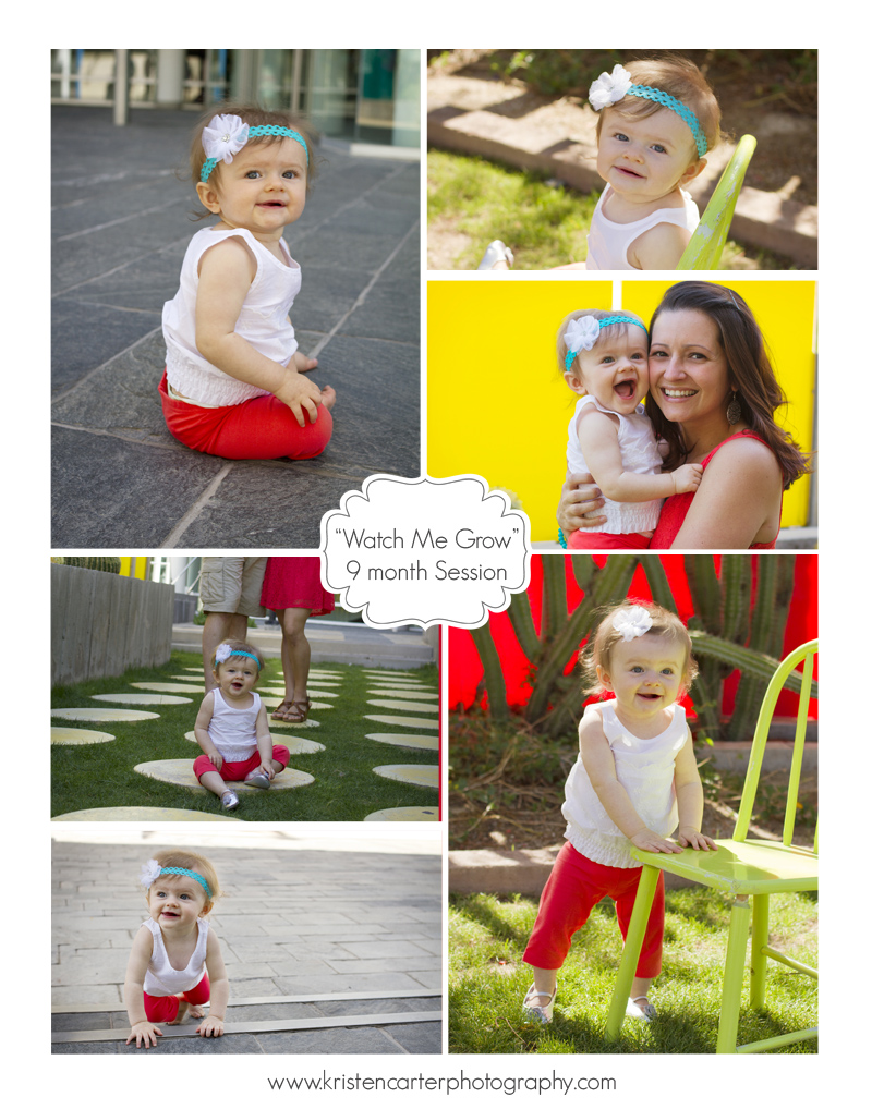 Kristen Carter Photography Watch Me Grow Blog 9months