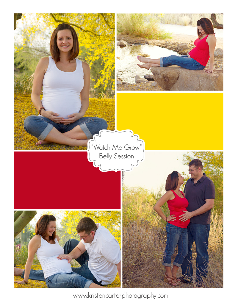 Kristen Carter Photography  Watch Me Grow Blog Belly