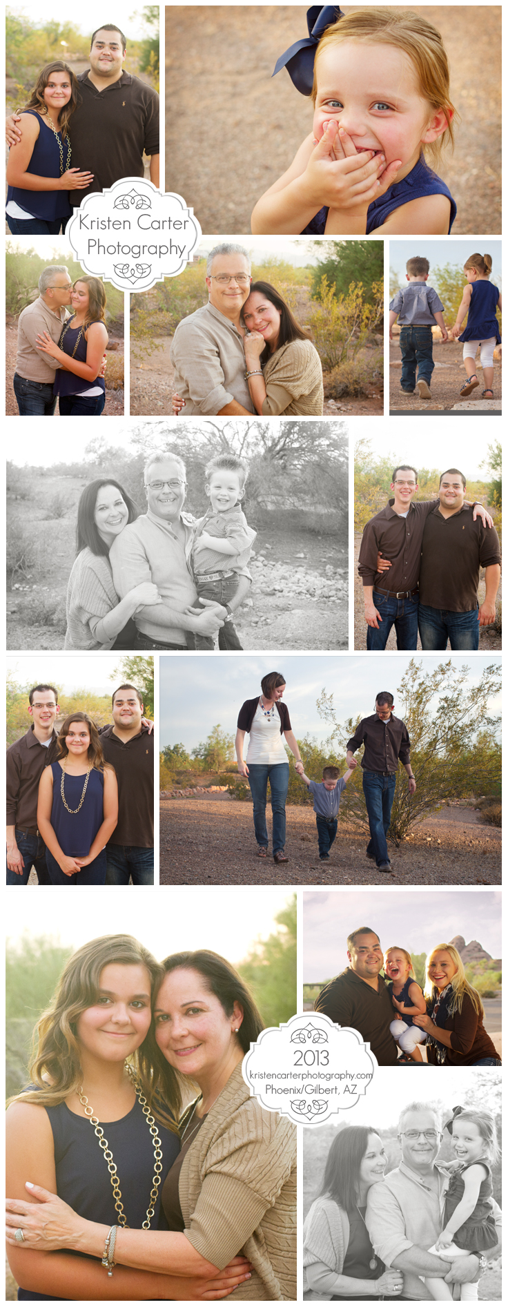 Kristen Carter Photography-Phoenix AZ Extended Family Session Papago Park