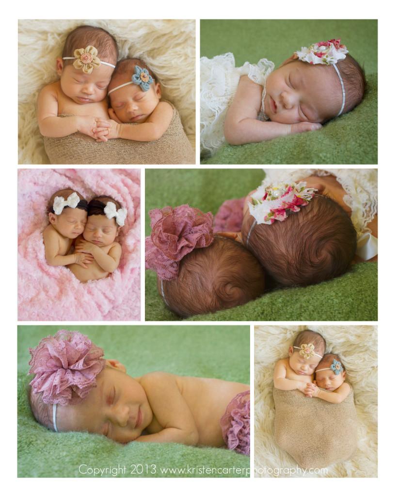 Kristen Carter Photography Twin Newborn Poses