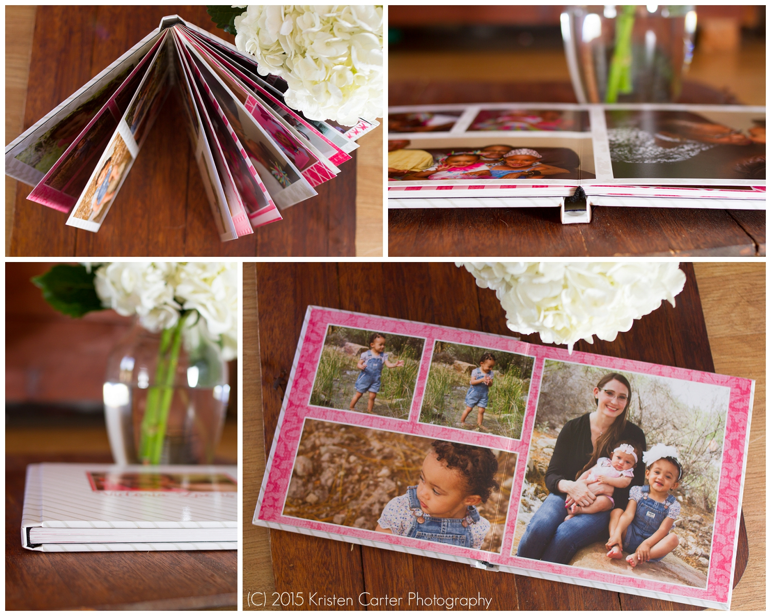 Chandler AZ Photo Book Birthday Kristen Carter Photography