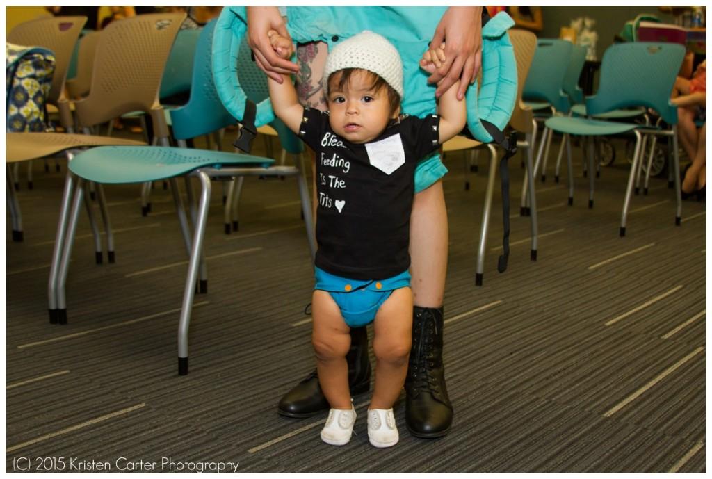 Chandler AZ Breastfeeding BIG Latch On Kristen Carter Photography