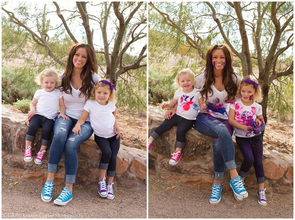Paint Fight Family Photos Gilbert AZ_0007