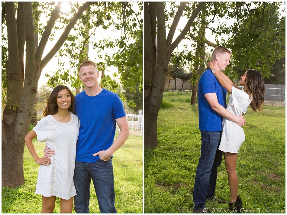 Engagement photos in Gilbert AZ