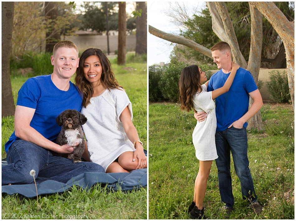 Save the Date Engagement Session Gilbert AZ