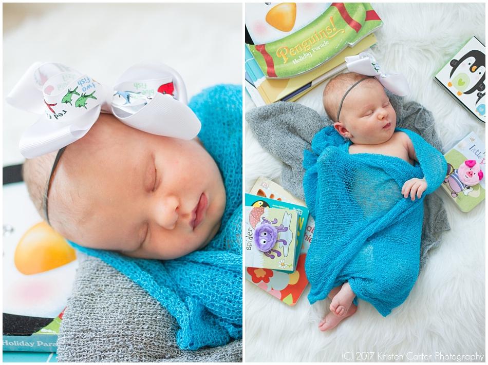 Dr Seuss Newborn Photography Gilbert AZ